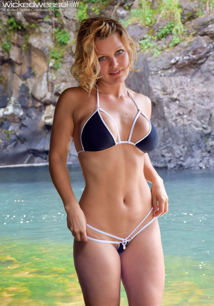 Bathing see suit through wicked weasel